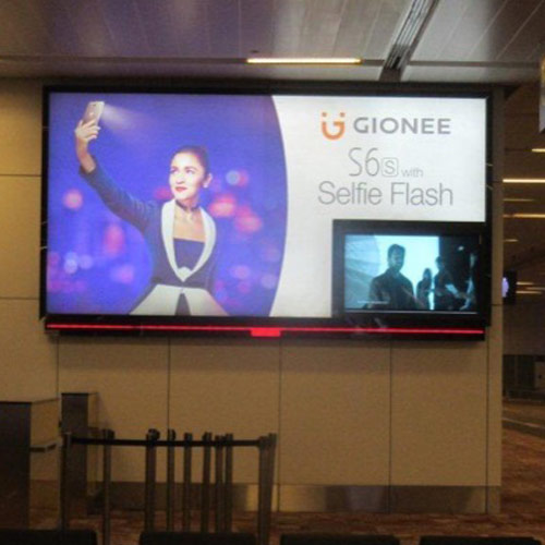 Gionee Raise Brand Awareness with a Premium Airport Presence