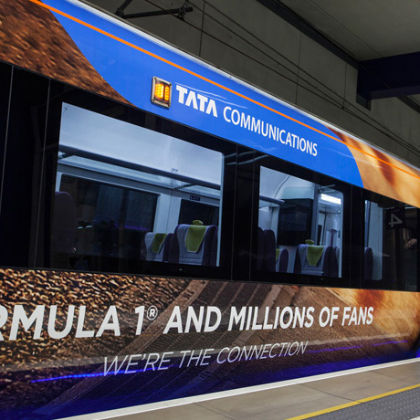Tata Communications' branded Heathrow Express trains have rolled into service