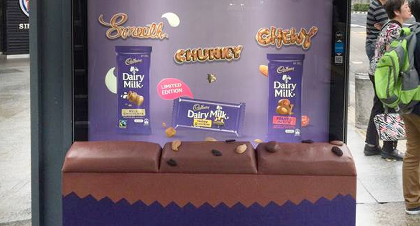 Can a bus seat get you in the mood for chocolate?