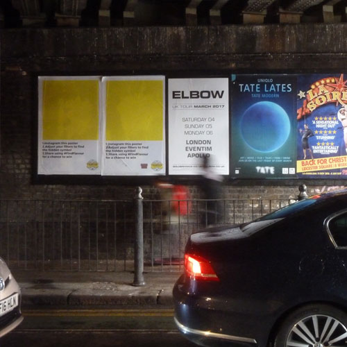 Fuller's Frontier Launches 'Blank' Outdoor Ads with Hidden Instagram Reveal