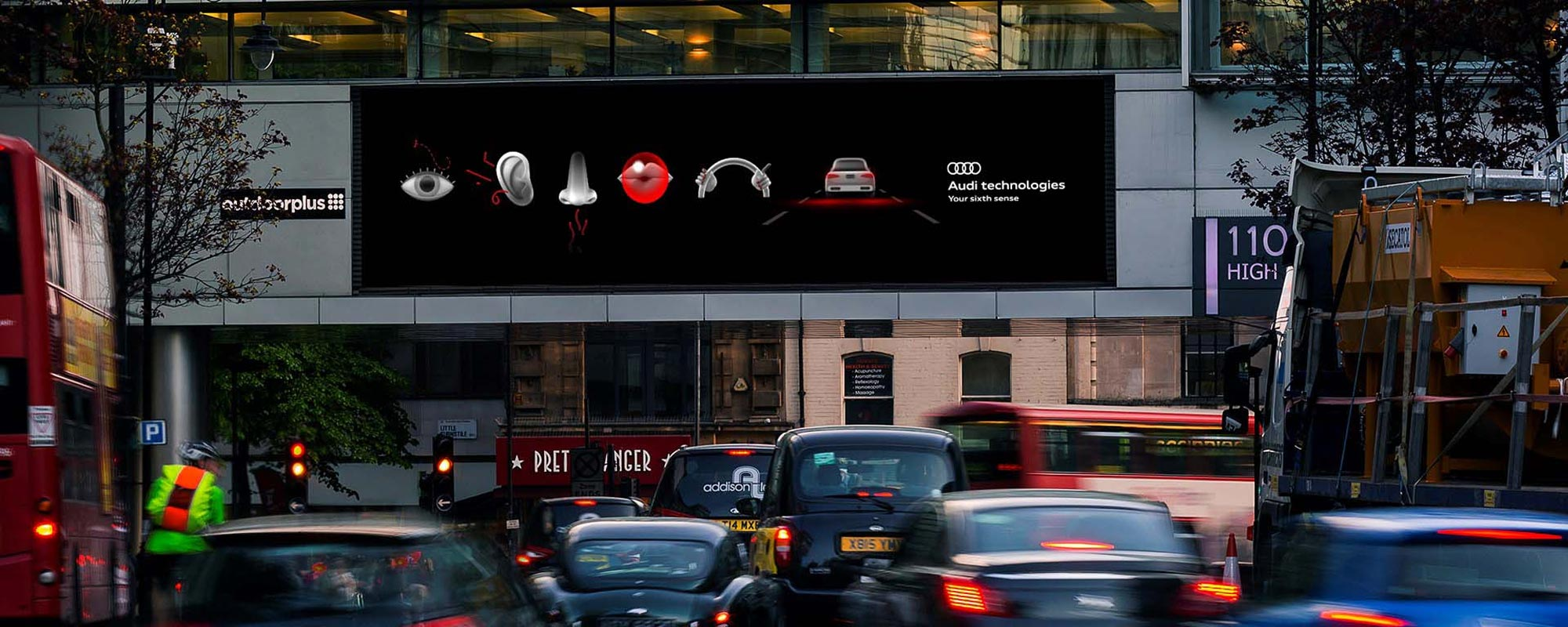 Audi Delivers Contextually-Relevant Ads with Data-Driven DOOH Campaign