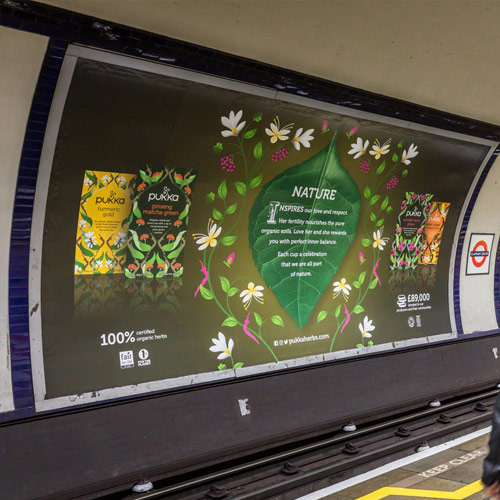 Pukka Herbs Become First Brand to Utilise 'Hello London' Data Offering