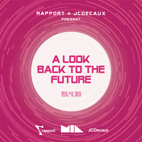 Rapport & JCDecaux Present 'A Look Back to the Future'