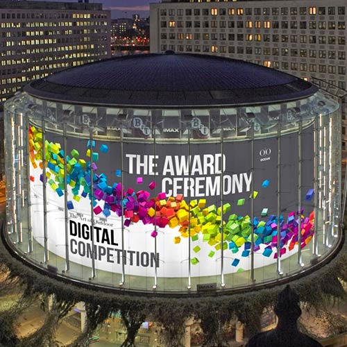 Digital Creative competition 2018 award ceremony ad