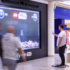 LEGO Star Wars Launch Interactive Gesture-Sensor DOOH Game