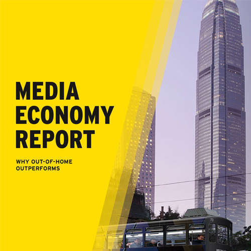 Media Economy Report – Why OOH Outperforms